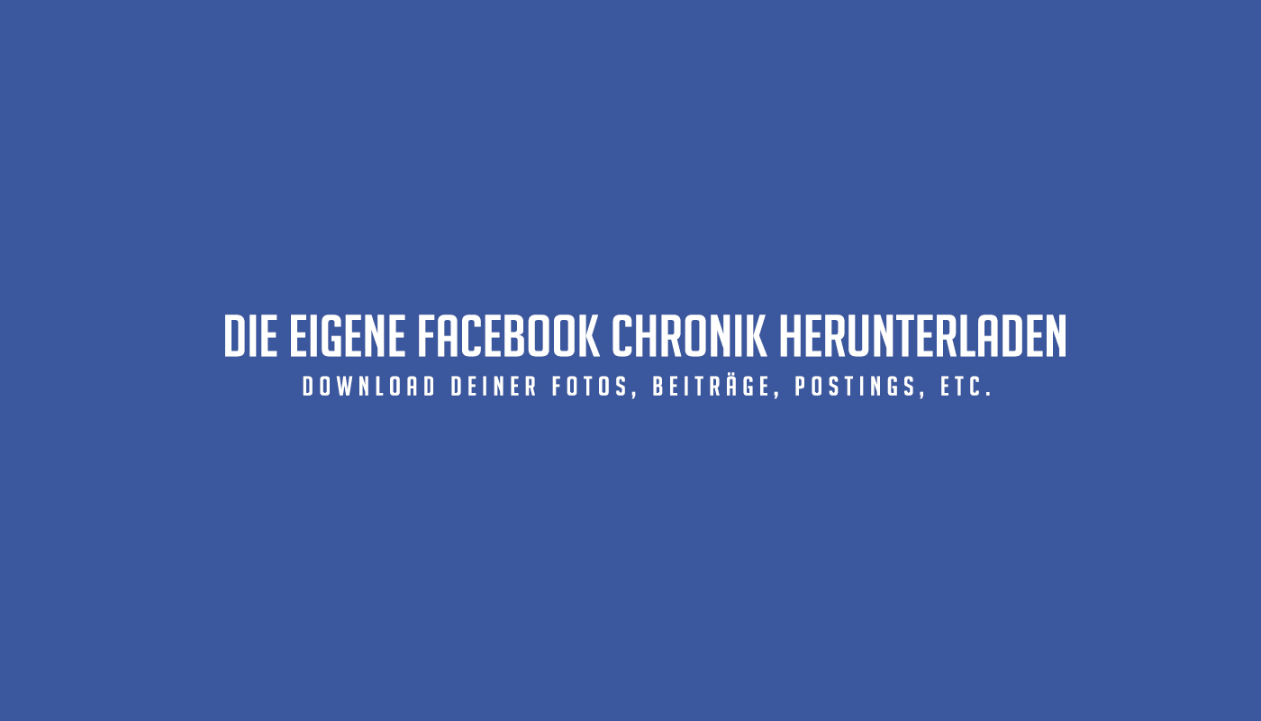 download-facebook-chronik